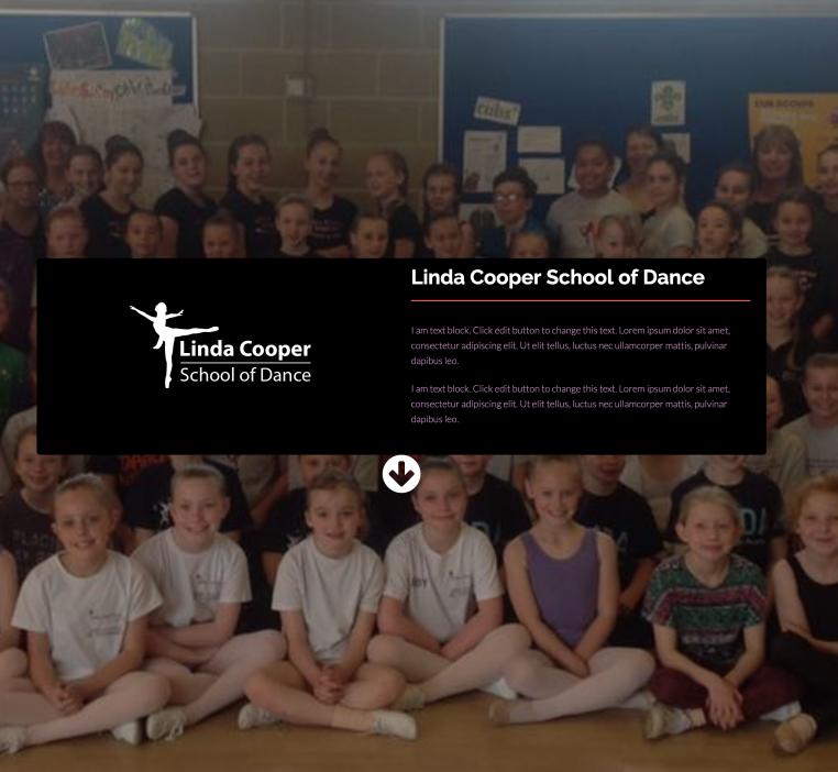 Linda Cooper School of Dance Website